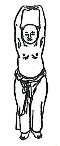Privatpraxis Dr. med. A. Ghazi-Idrissi: Zeichnung Chinese beim Qigong
