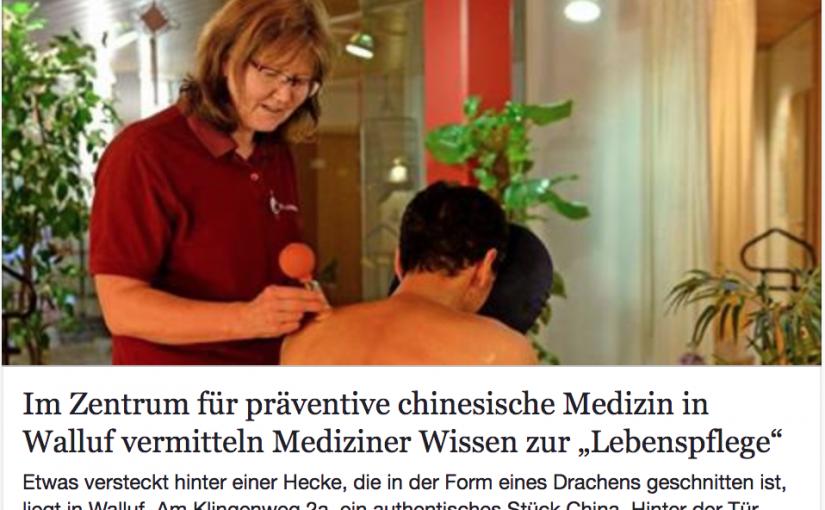 Gesundheitsprävention im Zentrum: Bild Wiesbadener-Kurier