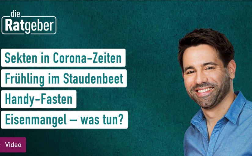 """Eisenmangel: Screenshot TV-Sendung """"Die Ratgeber"""" des hr-Fernsehens"""